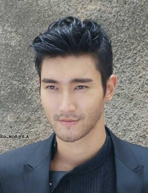Best 25+ Asian Male Hairstyles Ideas On Pinterest | Korean Male Pertaining To Asian Men Short Hairstyles (View 14 of 15)