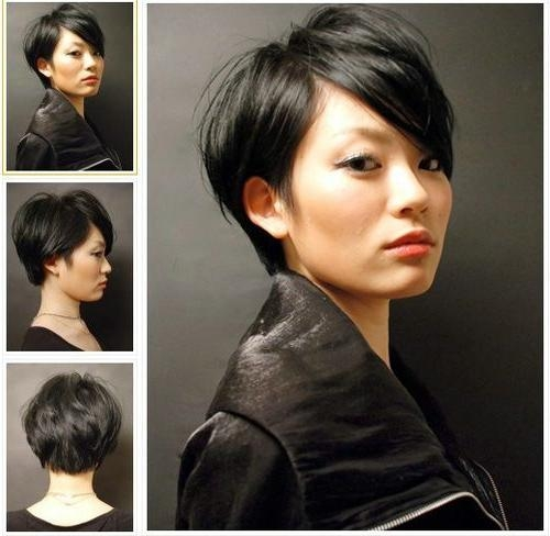 Best 25+ Asian Short Hairstyles Ideas On Pinterest | Asian Haircut Pertaining To Short Hairstyle For Asian Women (View 3 of 15)
