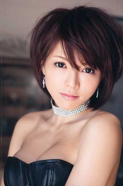 Best 25+ Asian Short Hairstyles Ideas On Pinterest | Asian Haircut Regarding Short Hairstyles For Korean Beautiful Women (View 7 of 15)