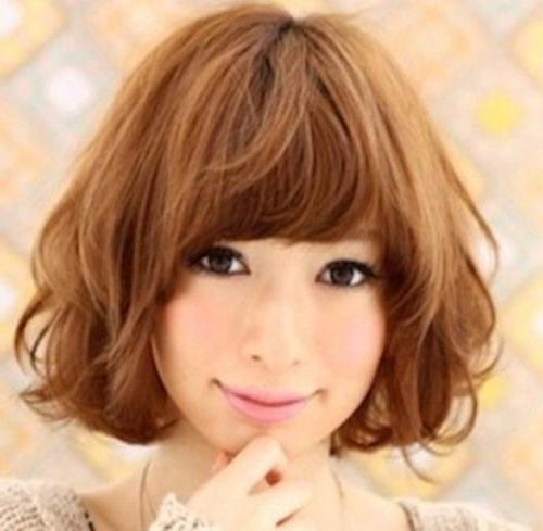 Best 25+ Asian Short Hairstyles Ideas On Pinterest | Asian Haircut Throughout Short Curly Shag Hairstyles For Korean Girls (View 5 of 15)