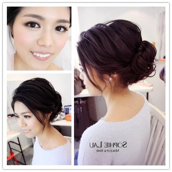 Wedding Hairstyle Asian: 15 Best Of Asian Wedding Hairstyles For Long Hair