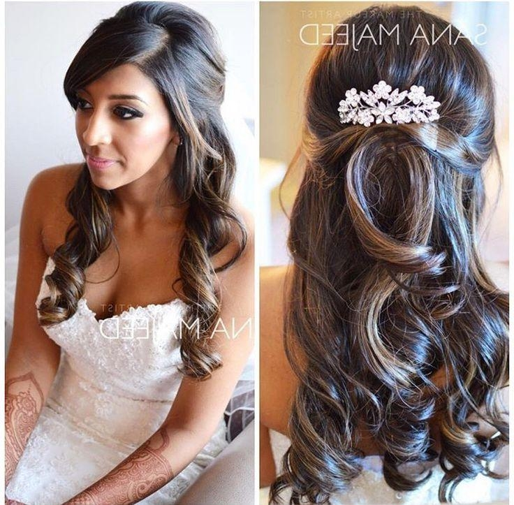 Asian Wedding Hairstyles Long Hair