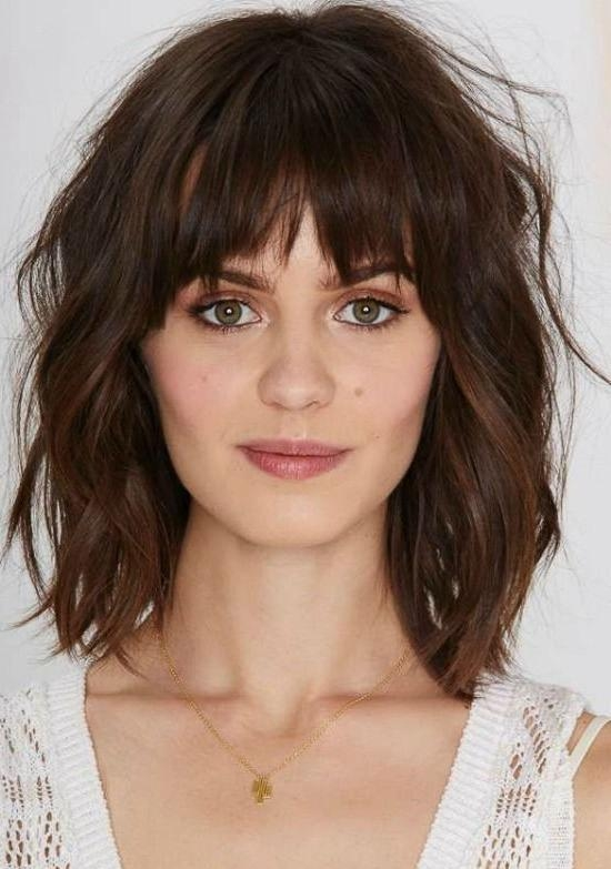 Best 25+ Bob Haircut With Bangs Ideas On Pinterest (View 2 of 15)