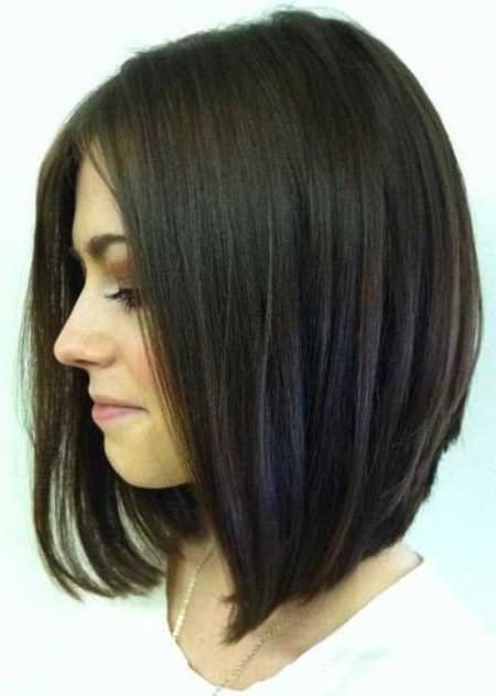 Best 25+ Bobs For Round Faces Ideas On Pinterest (View 4 of 15)