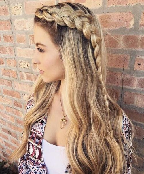 Best 25+ Braids For Long Hair Ideas On Pinterest | Little Mermaid In Braids Hairstyles For Long Thick Hair (View 2 of 15)