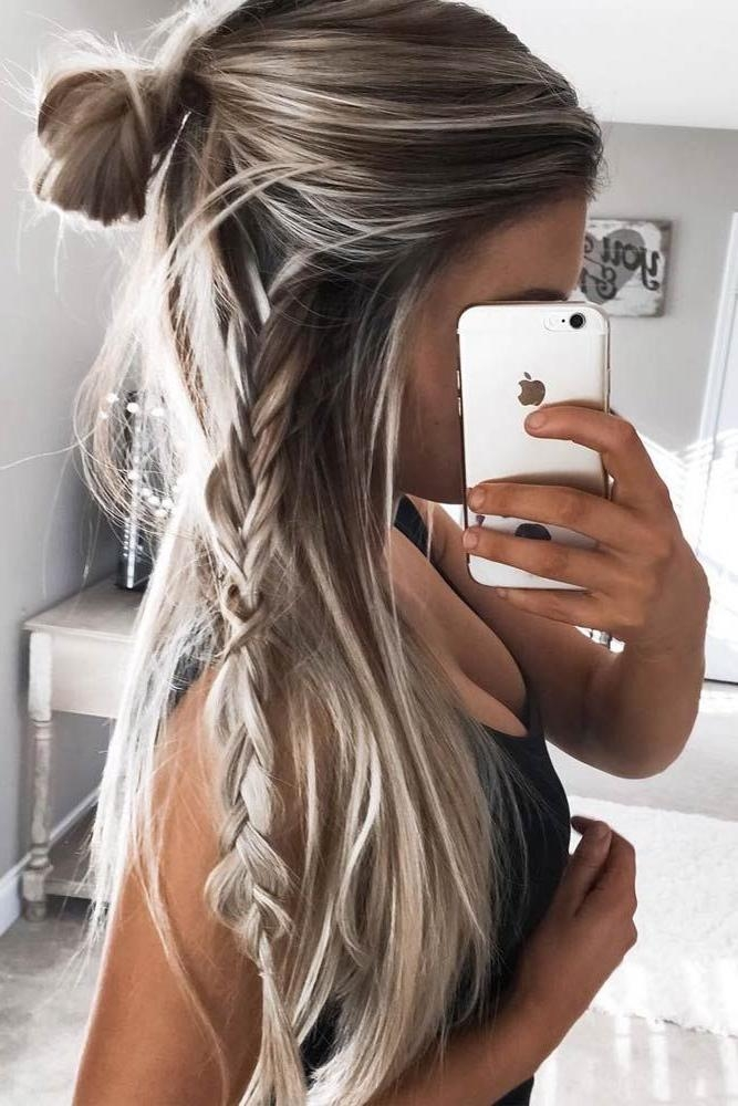 Best 25+ Braids For Long Hair Ideas On Pinterest | Little Mermaid With Regard To Braids Hairstyles For Long Thick Hair (View 15 of 15)