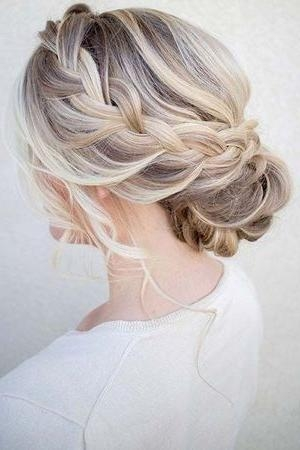 Best 25+ Bridesmaid Updo Hairstyles Ideas On Pinterest Inside Updo Hairstyles For Long Hair (View 1 of 15)