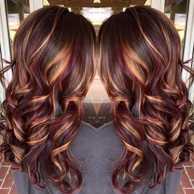 Best 25+ Brunette Hair Colors Ideas On Pinterest | Brunette Hair In Long Hairstyles Colors And Cuts (View 15 of 15)