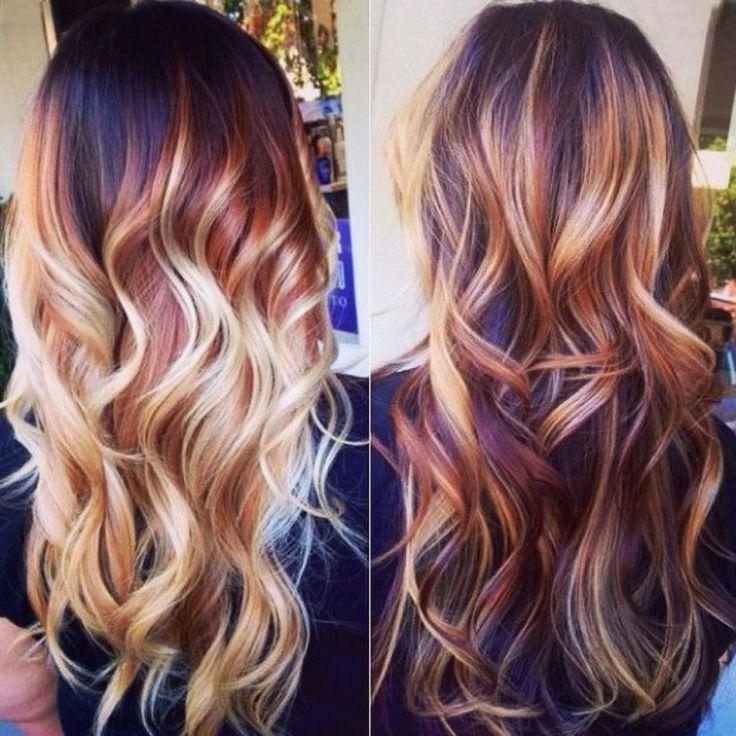 Best 25+ Burgundy Blonde Hair Ideas On Pinterest | Hair Color Red Inside Long Hairstyles And Colors (View 4 of 15)