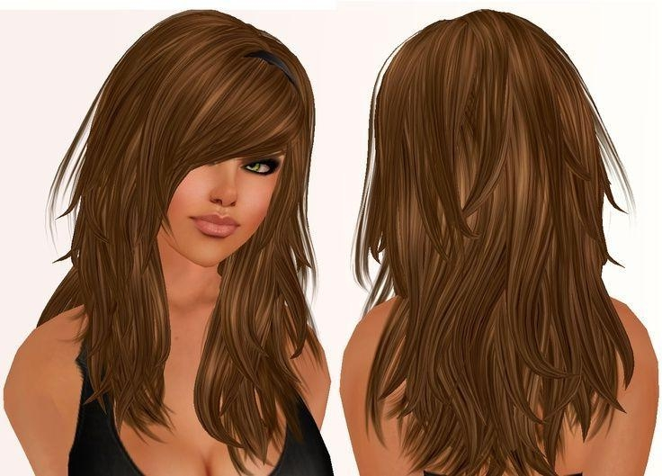 Best 25+ Choppy Layered Haircuts Ideas On Pinterest | Straight Pertaining To Long And Short Layers Hairstyles (View 8 of 15)
