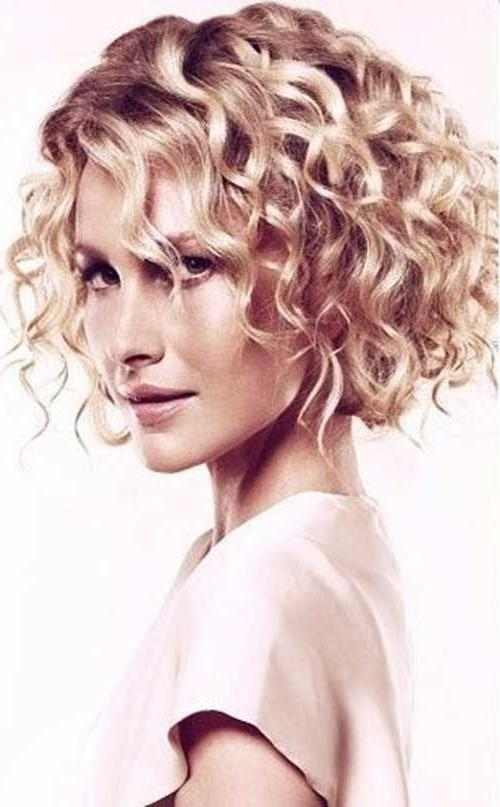 Best 25+ Curly Bob Hairstyles Ideas On Pinterest (View 3 of 15)