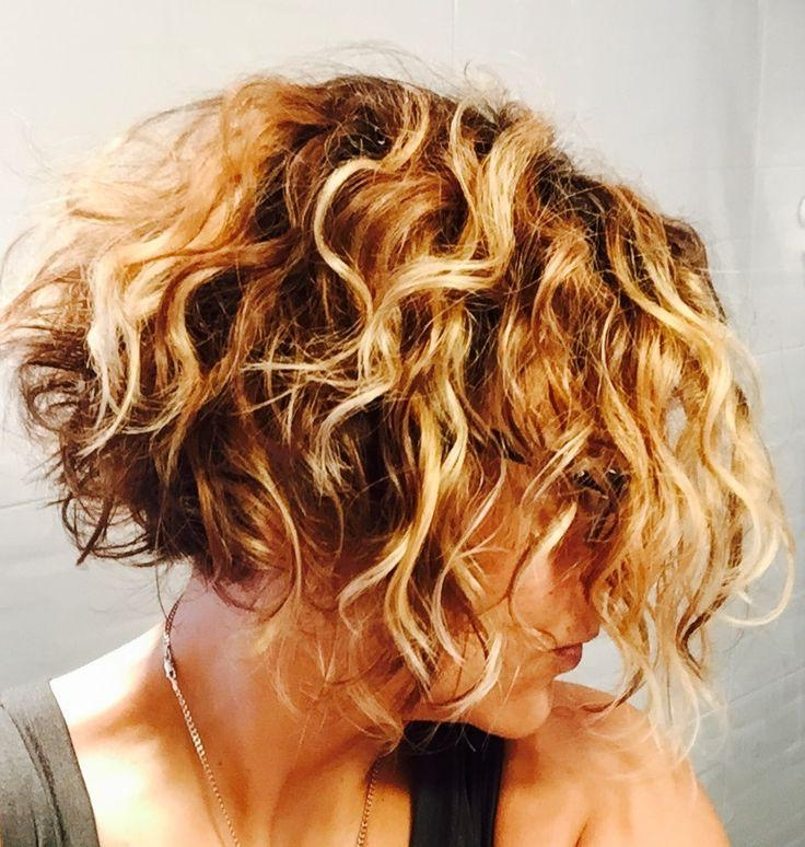 Best 25+ Curly Inverted Bob Ideas On Pinterest (View 1 of 15)