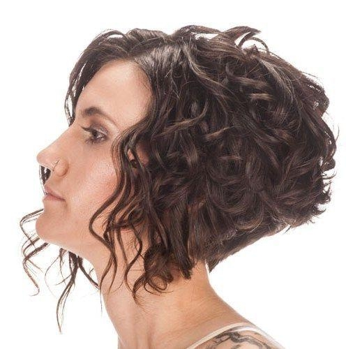 Best 25+ Curly Inverted Bob Ideas On Pinterest (View 4 of 15)