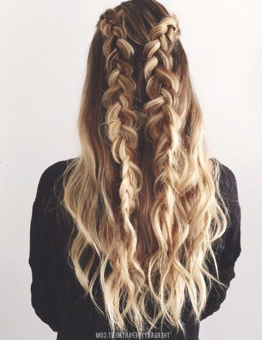 Best 25+ Cute Braided Hairstyles Ideas On Pinterest | Cute Fall Inside Braids Hairstyles For Long Thick Hair (View 11 of 15)