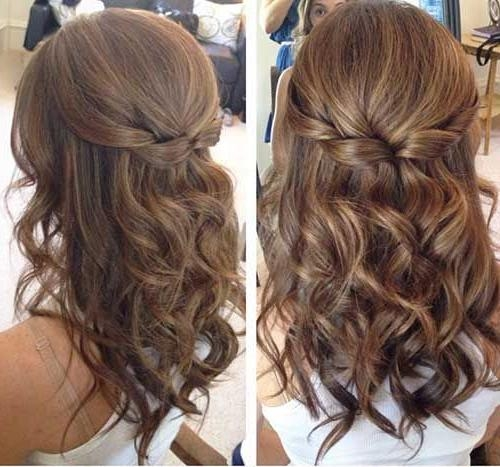Best 25+ Graduation Hairstyles Ideas On Pinterest | Prom Hair Down Throughout Long Hairstyles For Graduation (View 8 of 15)