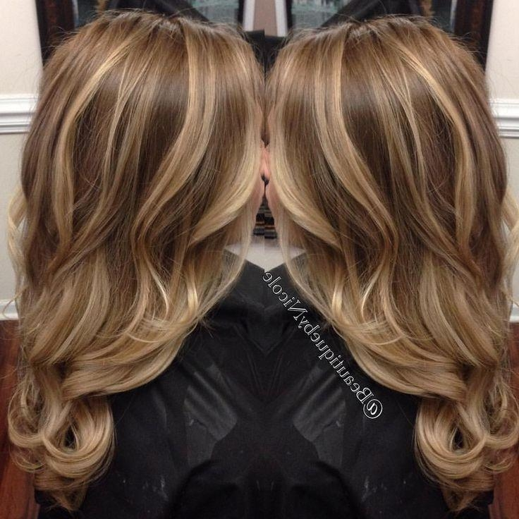 Best 25+ Highlights Ideas On Pinterest | Blond Highlights, Caramel Throughout Highlights For Long Hairstyles (View 2 of 15)