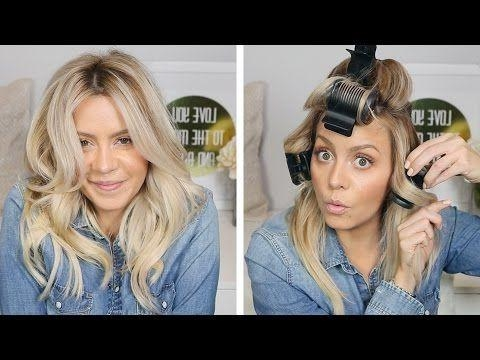 Best 25+ Hot Rollers Hair Ideas On Pinterest | Hot Rollers, Hot Regarding Electric Curlers For Long Hairstyles (View 8 of 15)