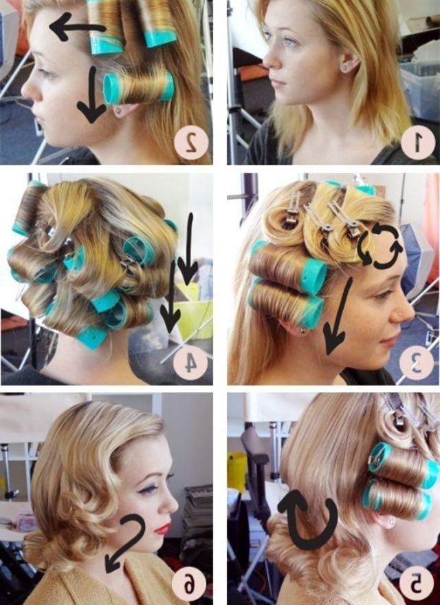 Best 25+ Hot Rollers Hair Ideas On Pinterest | Hot Rollers, Hot With Regard To Electric Curlers For Long Hairstyles (View 10 of 15)