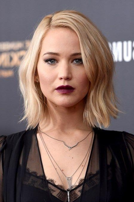 Featured Photo of Jennifer Lawrence Short Bob Haircuts
