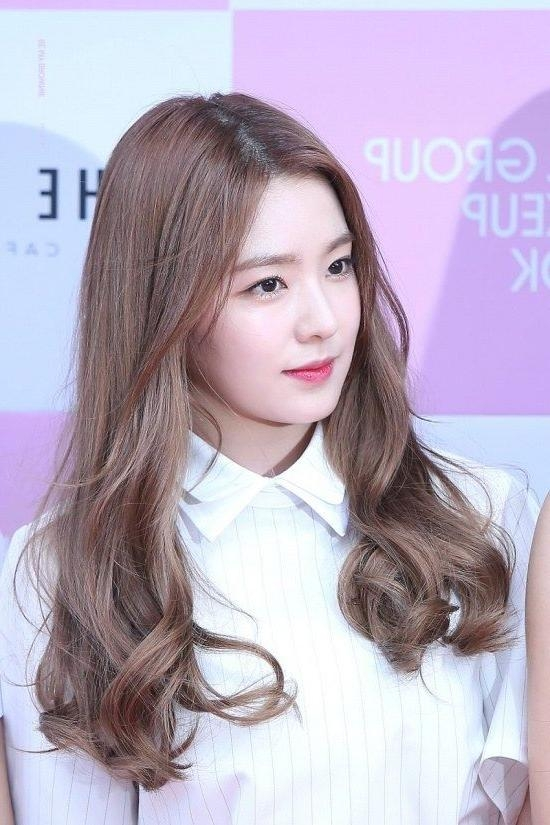 Best 25+ Korea Hair Color Ideas On Pinterest Regarding Korean Long Haircuts For Women With Red Hair (View 8 of 15)