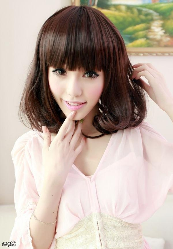 Best 25+ Korean Hairstyles Women Ideas On Pinterest | Korean For Korean Hairstyles For Girls (View 6 of 15)