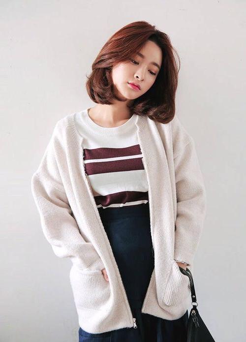 Best 25+ Korean Short Hair Ideas On Pinterest | Korean Short Inside Korean Women Hairstyles Short (View 9 of 15)