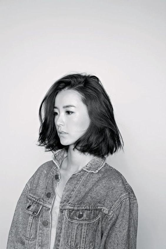 Best 25+ Korean Short Hair Ideas On Pinterest | Korean Short Pertaining To Cute Short White Hairstyles For Korean Girls (View 10 of 15)