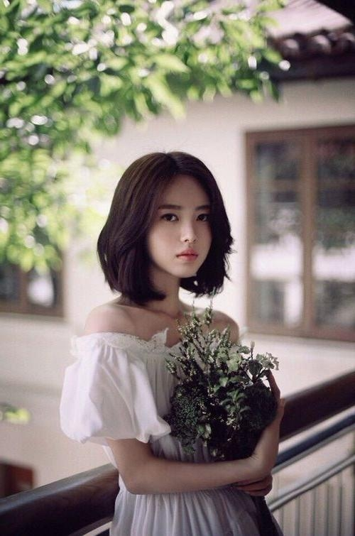 Best 25+ Korean Short Hair Ideas On Pinterest | Korean Short Pertaining To Short Hairstyles For Korean Beautiful Women (View 12 of 15)