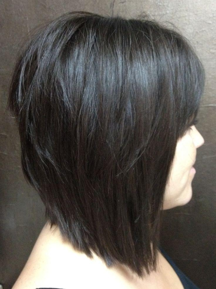 Best 25+ Layered Bob With Bangs Ideas On Pinterest (View 8 of 15)