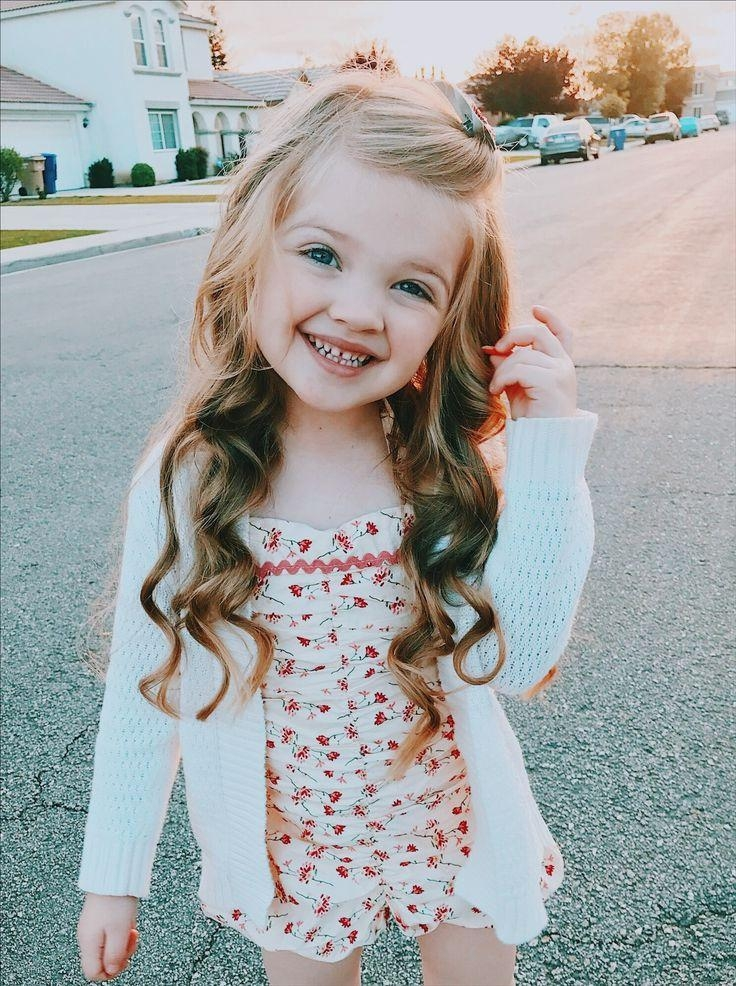 Best 25+ Little Girl Hairstyles Ideas On Pinterest | Little Girl Within Long Hairstyles For Young Girls (View 10 of 15)