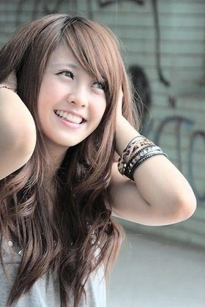 Best 25+ Long Asian Hairstyles Ideas On Pinterest | Asian Pertaining To Korean Long Hairstyles For Women (View 14 of 15)