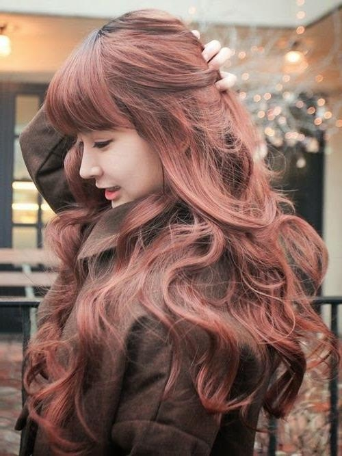 Best 25+ Long Asian Hairstyles Ideas On Pinterest | Asian Regarding Korean Long Haircuts For Women With Red Hair (View 11 of 15)