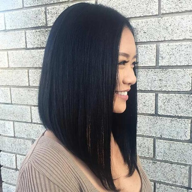 Best 25+ Long Bob Weave Ideas On Pinterest | Off Shoulder Tops With Regard To Long Bob Hairstyles With Bangs Weave (View 5 of 15)