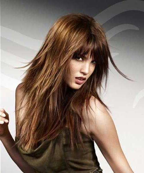 best layered haircuts 15 best of choppy layered hairstyles 1581