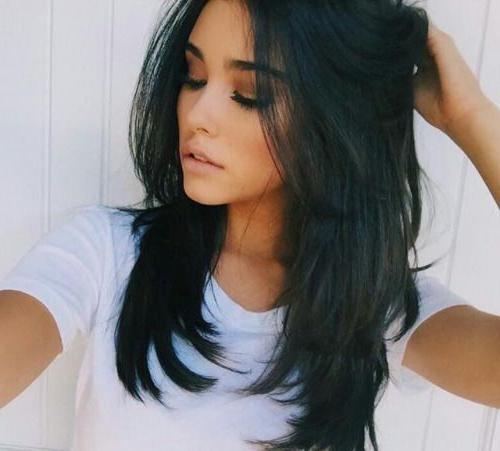 Best 25+ Long Choppy Hairstyles Ideas On Pinterest   Long Choppy Inside Long Choppy Layers Haircuts (View 5 of 15)