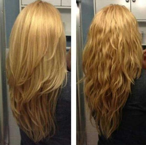 Best 25+ Long Choppy Hairstyles Ideas On Pinterest | Long Choppy Regarding Long Choppy Layers Haircuts (View 11 of 15)