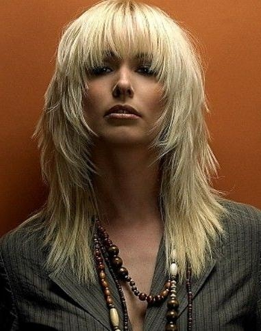 2020 popular long choppy layered haircuts with bangs