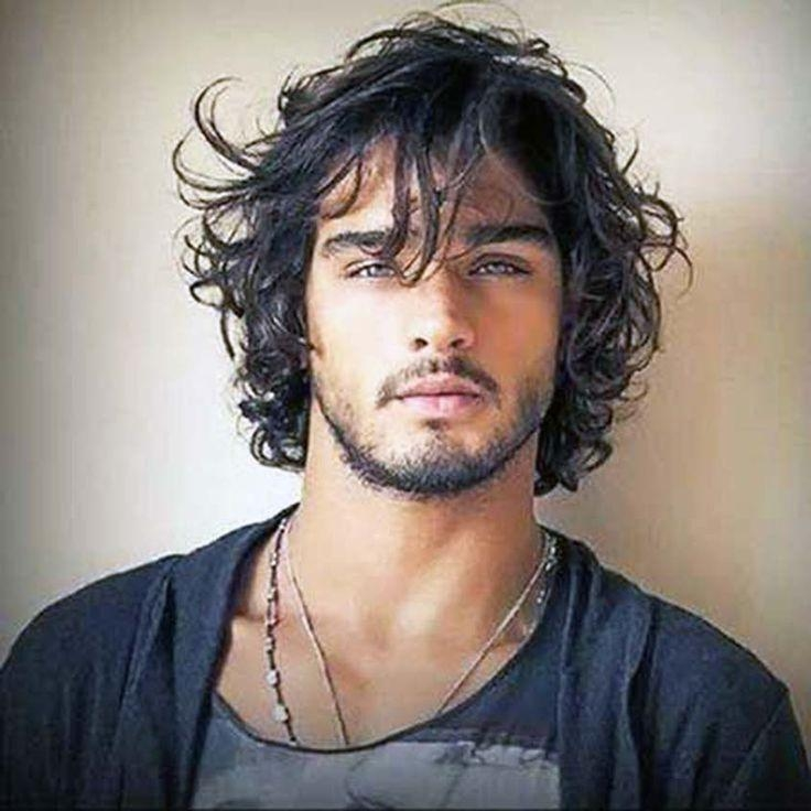 Best 25+ Long Curly Hair Men Ideas On Pinterest | Mens Hairstyles In Mens Long Curly Haircuts (View 6 of 15)