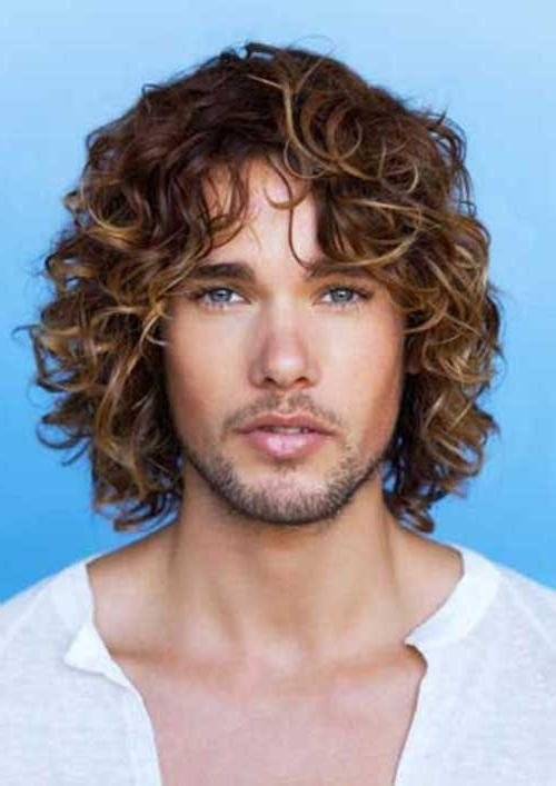 Best 25+ Long Curly Hair Men Ideas On Pinterest | Mens Hairstyles Pertaining To Men Long Curly Hairstyles (View 7 of 15)