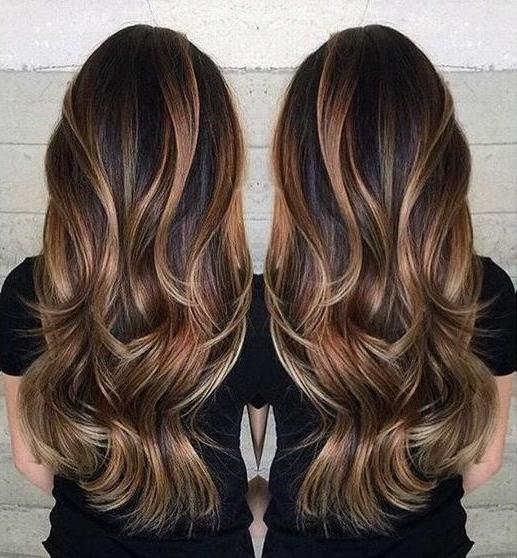 Best 25+ Long Hair Colors Ideas On Pinterest | Balayage Brunette Intended For Long Hairstyles And Colors (View 6 of 15)