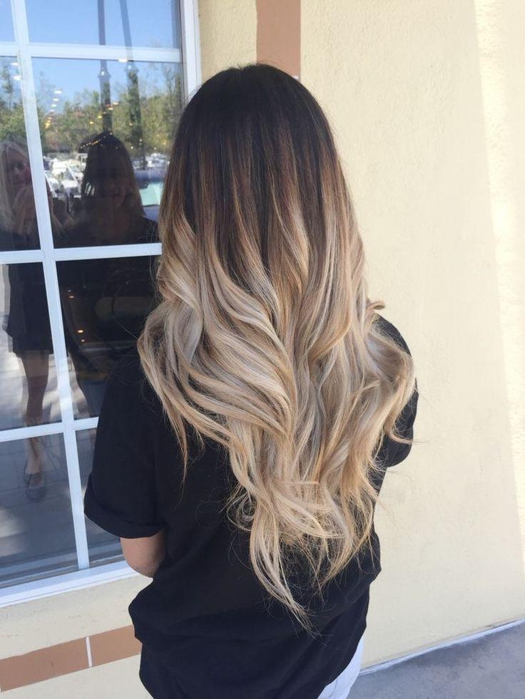 Best 25+ Long Hair Colors Ideas On Pinterest | Balayage Brunette Within Long Hairstyles Colors And Cuts (View 5 of 15)
