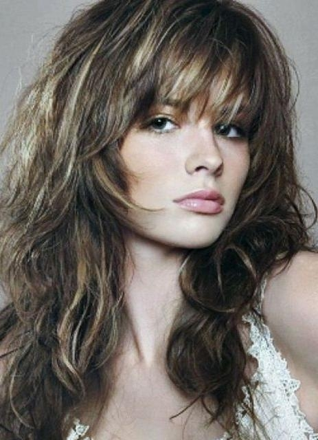 Best 25+ Long Shag Hairstyles Ideas On Pinterest | Long Shag In Medium Long Shaggy Hairstyles (View 7 of 15)