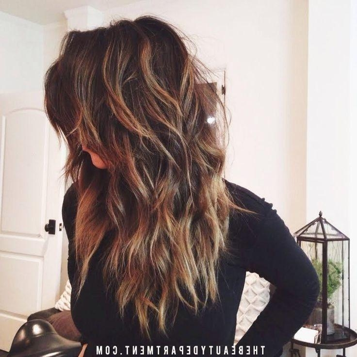 Best 25+ Long Wavy Haircuts Ideas On Pinterest | What Is An Throughout Long Hairstyles Colors And Cuts (View 14 of 15)