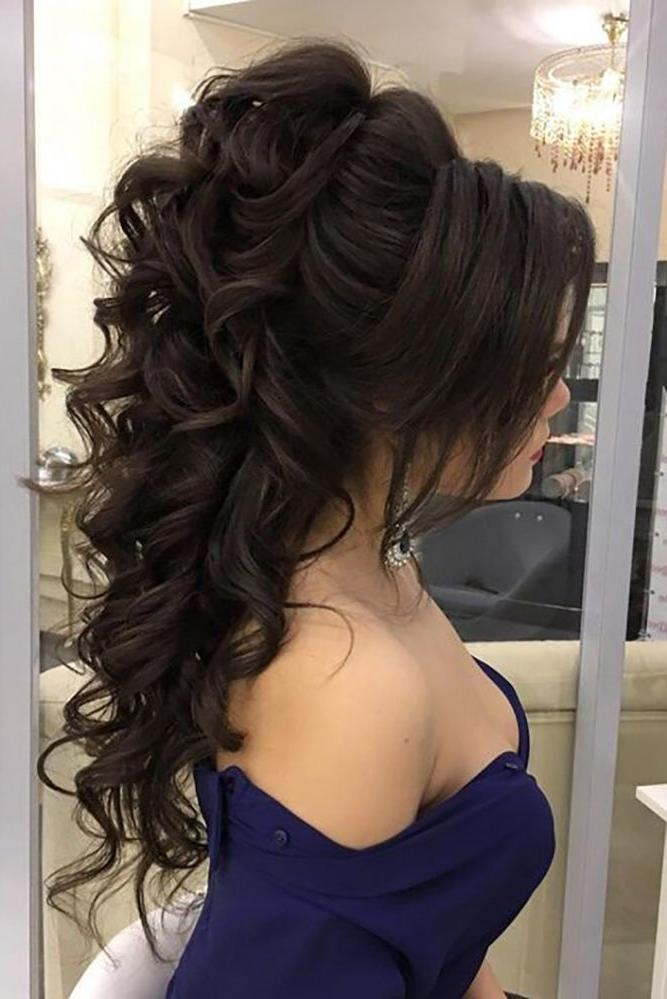 Best 25+ Long Wedding Hairstyles Ideas On Pinterest | Formal Hair Inside Hairstyles For Long Hair Wedding (View 11 of 15)