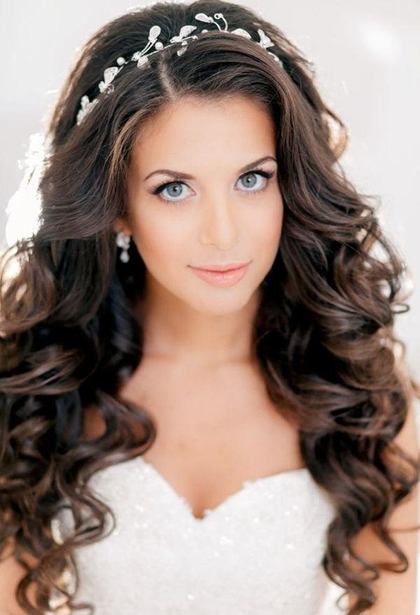 Best 25+ Long Wedding Hairstyles Ideas On Pinterest | Formal Hair Regarding Hairstyles For Long Hair Wedding (View 7 of 15)