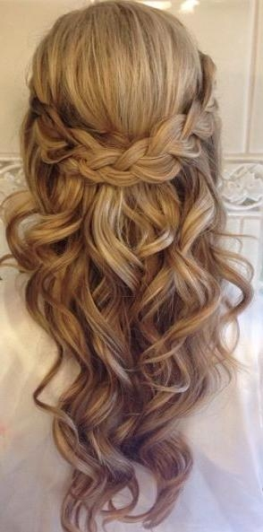 Best 25+ Long Wedding Hairstyles Ideas On Pinterest | Formal Hair Throughout Hairstyles For Long Hair Wedding (View 7 of 15)