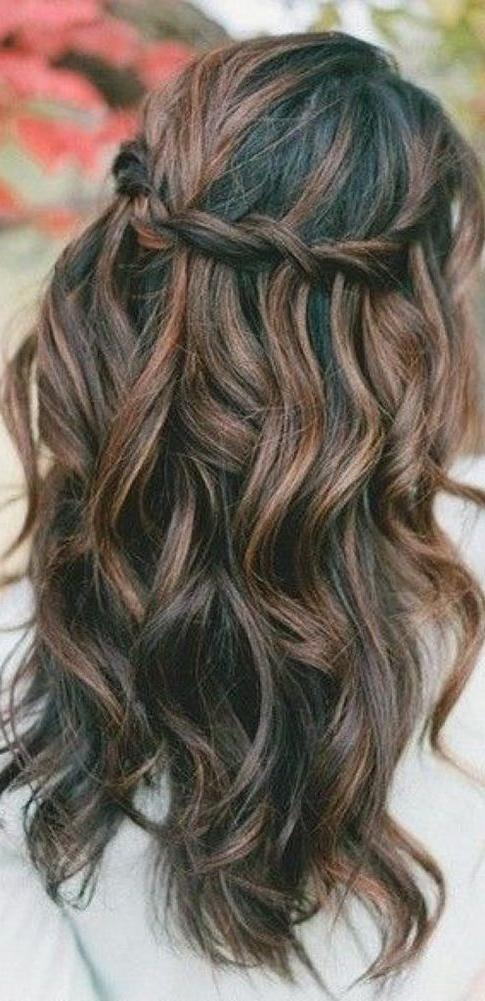 Best 25+ Long Wedding Hairstyles Ideas On Pinterest | Formal Hair With Hairstyles For Long Hair Wedding (View 8 of 15)