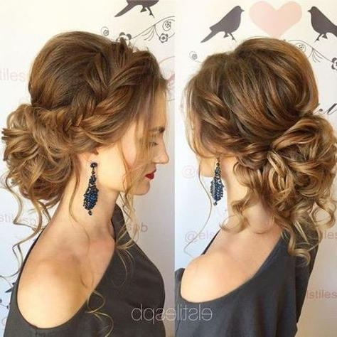 Best 25+ Medium Hair Updo Ideas On Pinterest | Hair Updos For In Medium Long Updos Hairstyles (View 8 of 15)