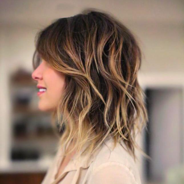 Best 25+ Medium Shag Haircuts Ideas On Pinterest | Shag Hair Cut In Medium Long Shaggy Hairstyles (View 7 of 15)