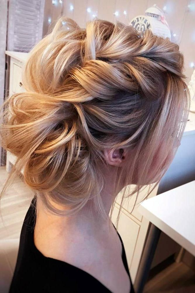 Best 25+ Medium Updo Hairstyles Ideas On Pinterest | Bridesmaids For Medium Long Updos Hairstyles (View 12 of 15)